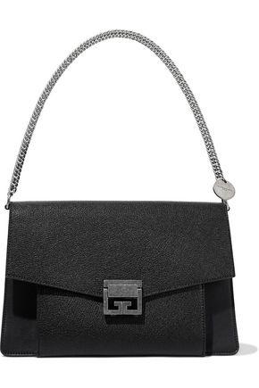 GIVENCHY GV3 medium pebbled-leather shoulder bag