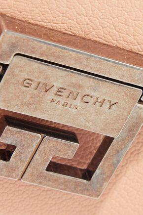 GIVENCHY GV3 mini pebbled-leather shoulder bag