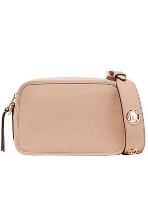 FENDI Logo-embellished leather shoulder bag