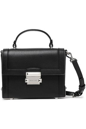 MICHAEL MICHAEL KORS Studded pebbled-leather shoulder bag
