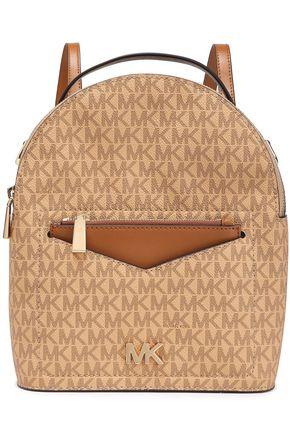 MICHAEL MICHAEL KORS Jessa color-block textured-leather backpack