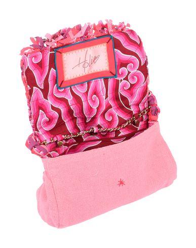 Фото 2 - Сумку на руку розового цвета