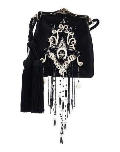 Фото - Сумку через плечо от RALPH LAUREN BLACK LABEL черного цвета