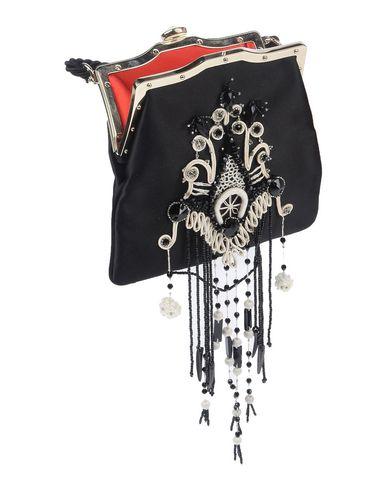 Фото 2 - Сумку через плечо от RALPH LAUREN BLACK LABEL черного цвета
