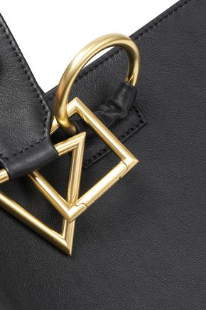 TARA ZADEH Leather shoulder bag