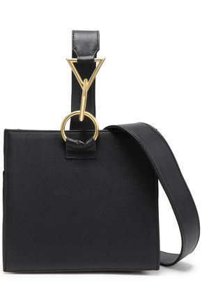 TARA ZADEH Leather shoulder bag