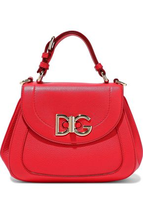 DOLCE & GABBANA Wifi pebbled-leather shoulder bag