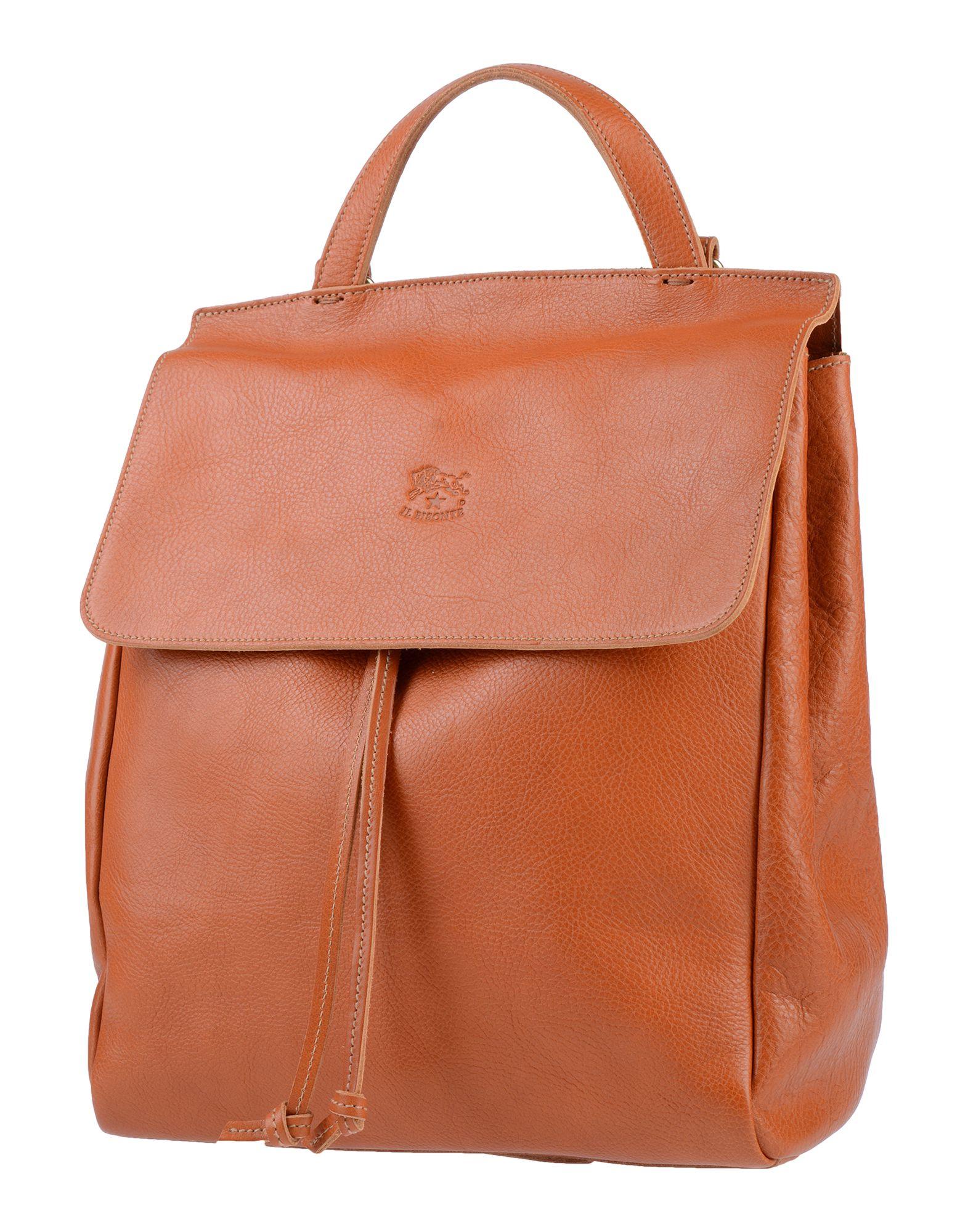 IL BISONTE Рюкзаки и сумки на пояс цена и фото