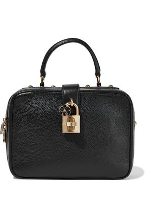 DOLCE & GABBANA Rosaria pebbled-leather shoulder bag