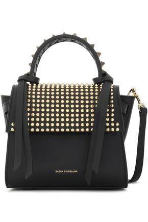 ELENA GHISELLINI Angel XS Punky studded leather shoulder bag