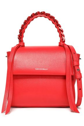 ELENA GHISELLINI Angel textured-leather shoulder bag