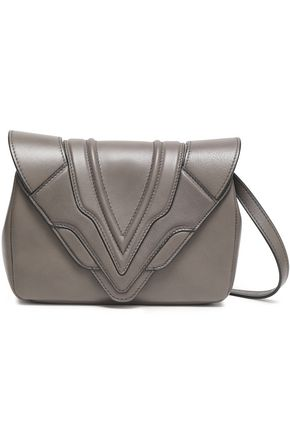 ELENA GHISELLINI Felix paneled leather shoulder bag