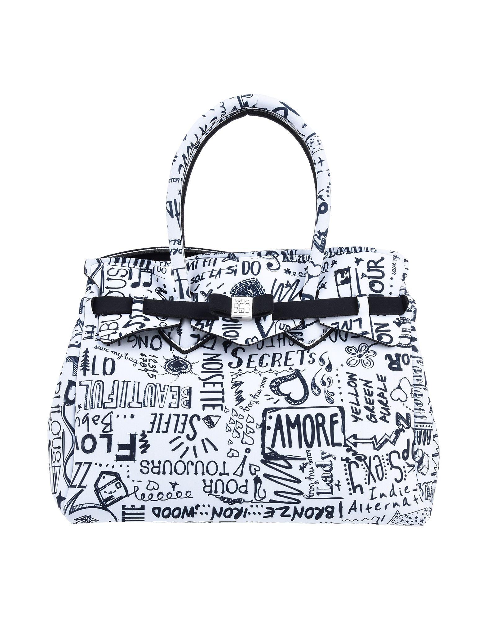 SAVE MY BAG Сумка на руку my super sparkly sticker bag