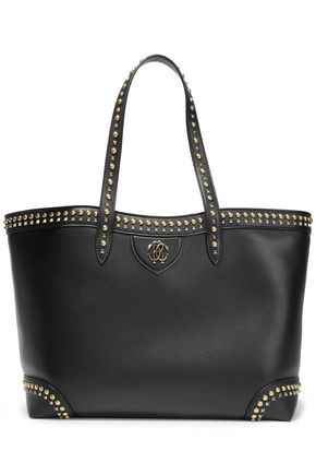 ROBERTO CAVALLI Studded leather tote