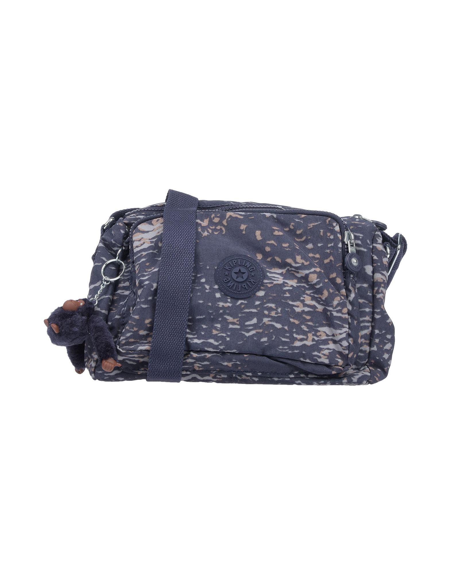 《期間限定セール開催中!》KIPLING レディース 肩掛けバッグ ダークブルー 紡績繊維