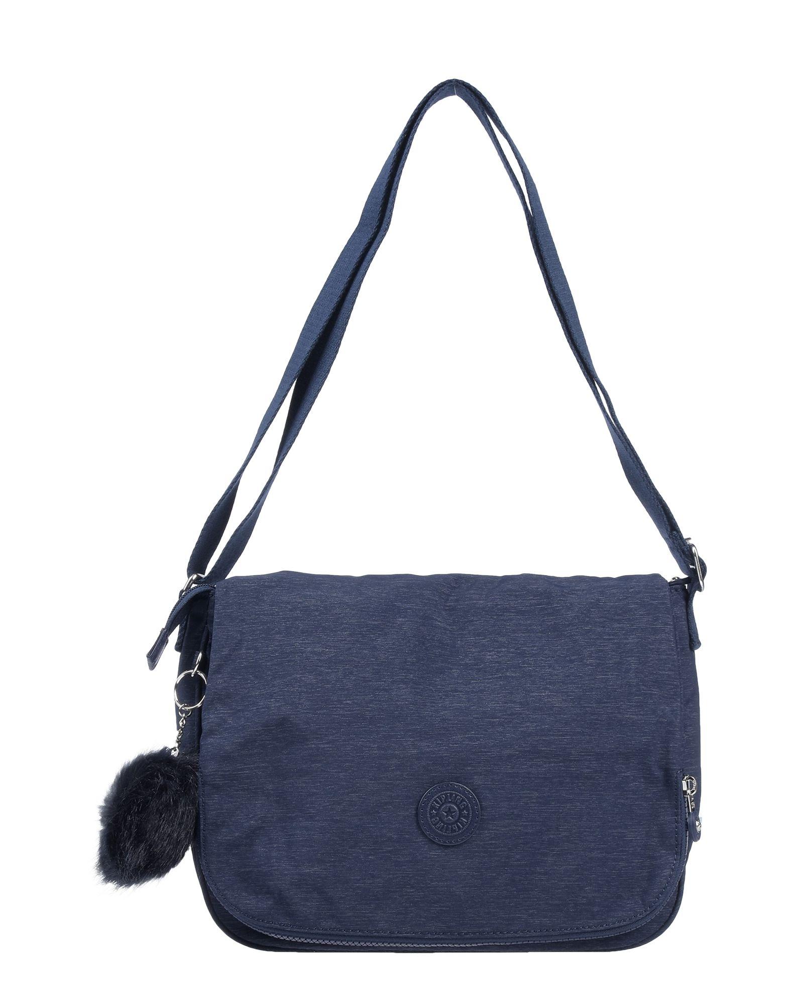 《期間限定セール開催中!》KIPLING レディース 肩掛けバッグ ブルー 紡績繊維