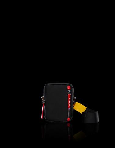 DETOUR Black Handbags Man