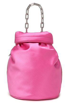 ALEXANDER WANG Attica satin bucket bag
