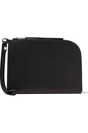 RICK OWENS Textured-leather wallet