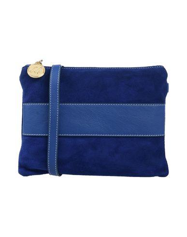 Купить Сумку через плечо от CARLA G. синего цвета