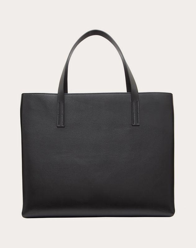 Горизонтальная сумка-шоппер с принтом Love