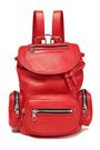 McQ Alexander McQueen Mini convertible leather backpack