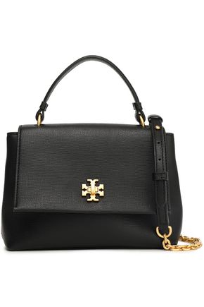 TORY BURCH Pebbled-leather shoulder bag