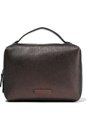 BRUNELLO CUCINELLI Beaded leather shoulder bag