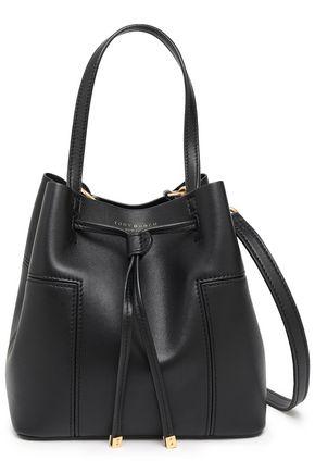 TORY BURCH Leather bucket bag
