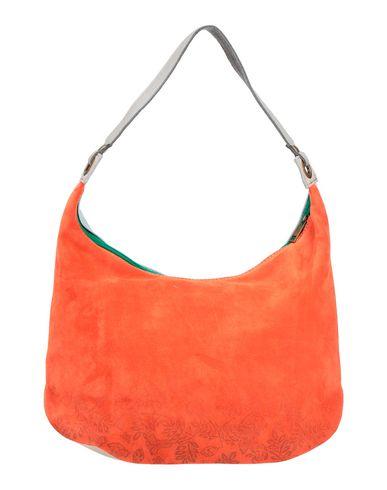 Фото - Сумку на плечо от EBARRITO оранжевого цвета