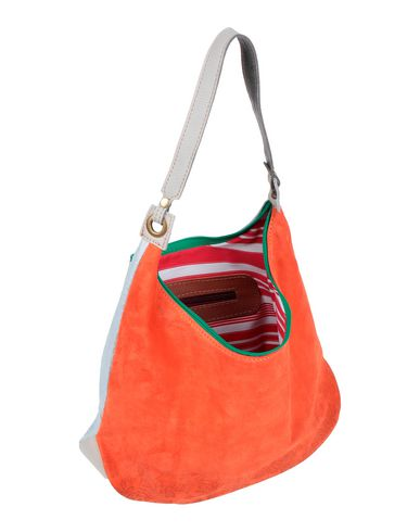Фото 2 - Сумку на плечо от EBARRITO оранжевого цвета