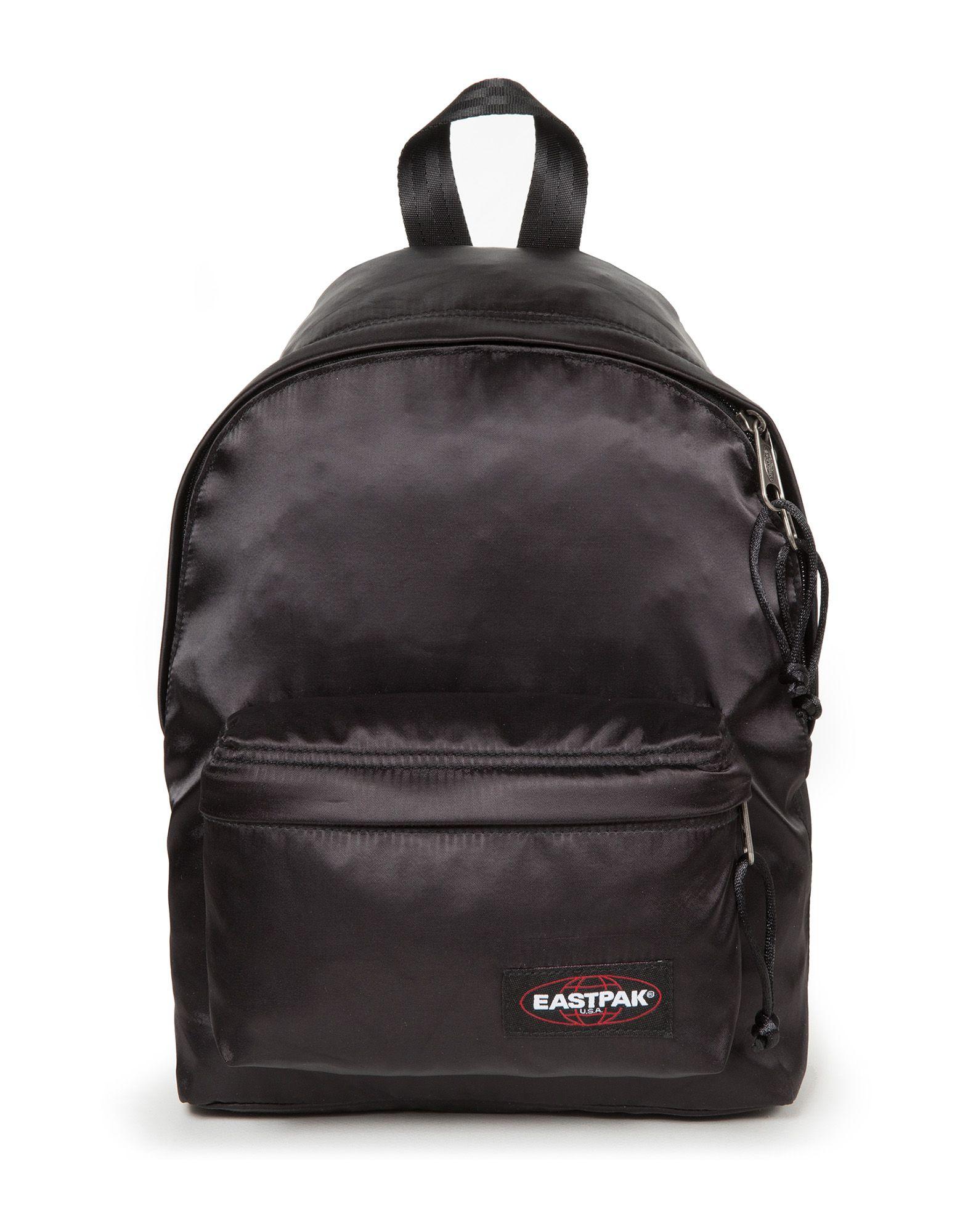 《期間限定セール開催中!》EASTPAK Unisex バックパック&ヒップバッグ ブラック ポリエステル 100% ORBIT SATIN BLACK