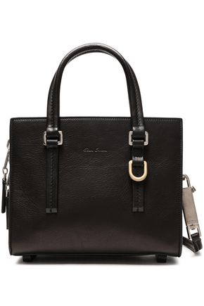 RICK OWENS Embellished textured-leather tote