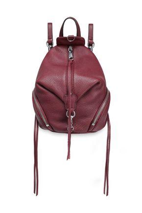 REBECCA MINKOFF Julian pebbled-leather backpack