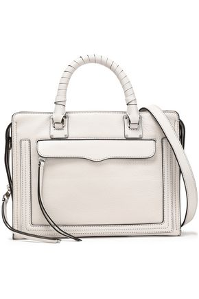 REBECCA MINKOFF Bree Medium pebbled-leather shoulder bag
