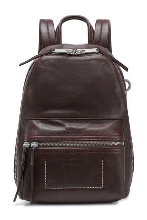 RICK OWENS Textured-leather backpack