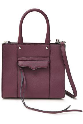REBECCA MINKOFF M.A.B. textured-leather shoulder bag