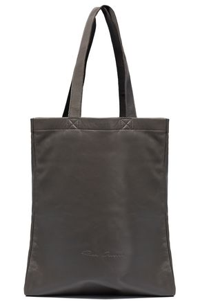 RICK OWENS Textured-leather tote