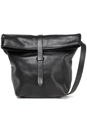 ANN DEMEULEMEESTER Cimone textured-leather shoulder bag