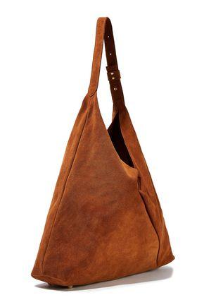 IRIS & INK Alvida suede shoulder bag