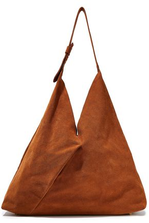 IRIS & INK Alvida suede shoulder bag