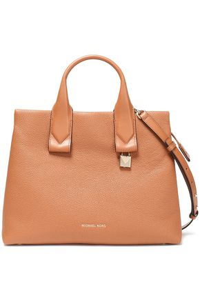 MICHAEL MICHAEL KORS Rollins pebbled-leather tote