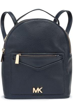 MICHAEL MICHAEL KORS Logo-embellished textured-leather backpack