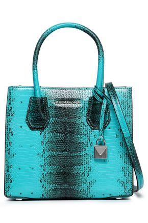 MICHAEL MICHAEL KORS Snake-effect leather shoulder bag