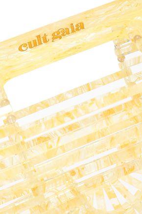 CULT GAIA Ark small marbled acrylic clutch