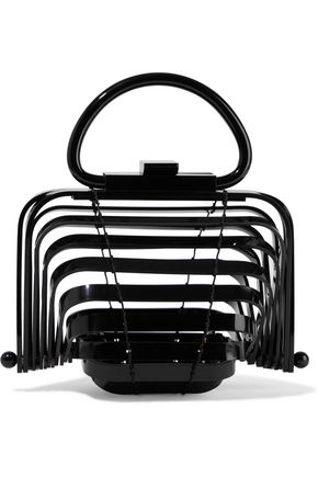 CULT GAIA Lilleth mini collapsible acrylic tote