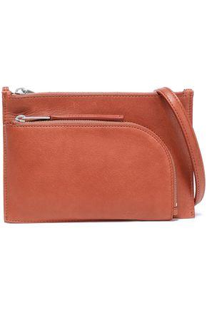 RICK OWENS Textured-leather shoulder bag