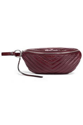 REBECCA MINKOFF Quilted leather belt bag