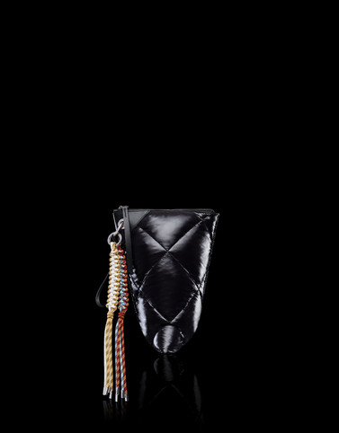 TWISTED POUCH Black 2 Moncler 1952 Valextra Woman