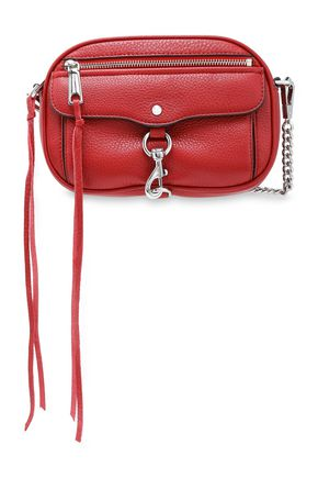 REBECCA MINKOFF Pebbled-leather shoulder bag